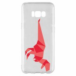 Чехол для Samsung S8+ Origami dinosaur