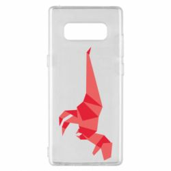 Чехол для Samsung Note 8 Origami dinosaur
