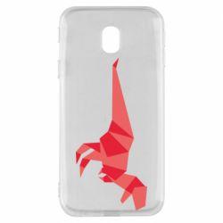 Чехол для Samsung J3 2017 Origami dinosaur