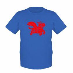 Детская футболка Осел-курьер (Dota 2) - FatLine