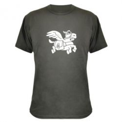 Камуфляжная футболка Осел-курьер (Dota 2)