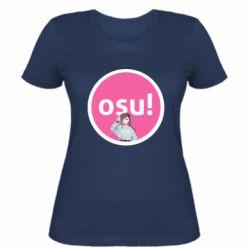 Женская футболка Osu!
