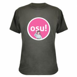 Камуфляжная футболка Osu!