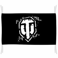 Прапор Відбиток гусениць WOT