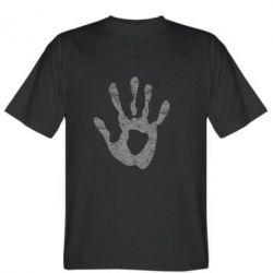 Мужская футболка Отпечаток руки - FatLine