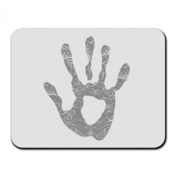 Коврик для мыши Отпечаток руки - FatLine