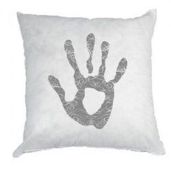 Подушка Отпечаток руки - FatLine