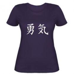 Женская футболка Отвага - FatLine