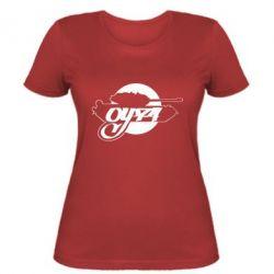 Женская футболка Оу-74 Tankograd