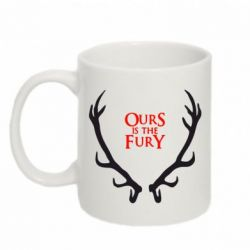 Кружка 320ml Ours is the fury (Игра престолов) - FatLine