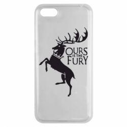 Чехол для Huawei Y5 2018 Ours is the fury - FatLine