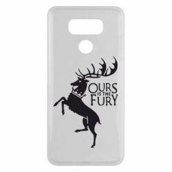 Чехол для LG G6 Ours is the fury - FatLine