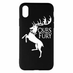 Чохол для iPhone X/Xs Ours is the fury