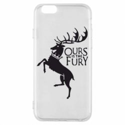 Чохол для iPhone 6/6S Ours is the fury
