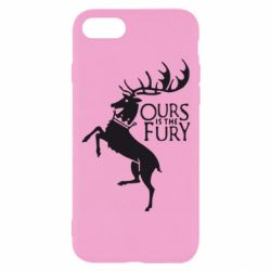 Чохол для iPhone 7 Ours is the fury