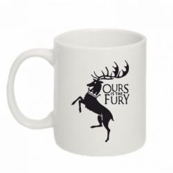 Кружка 320ml Ours is the fury - FatLine
