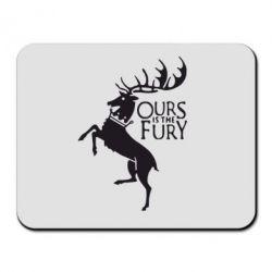 Коврик для мыши Ours is the fury - FatLine