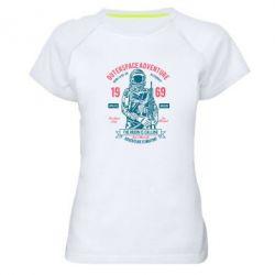 Жіноча спортивна футболка Outerspace Adventure 69