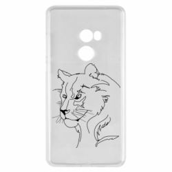 Чехол для Xiaomi Mi Mix 2 Outline drawing of a lion