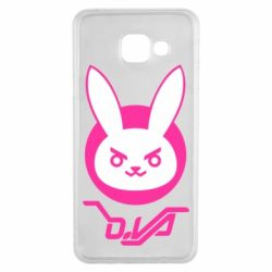 Чехол для Samsung A3 2016 Overwatch dva rabbit