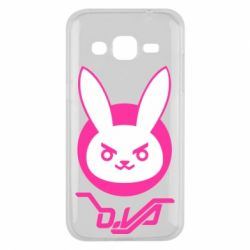 Чехол для Samsung J2 2015 Overwatch dva rabbit