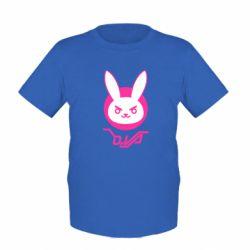 Дитяча футболка Overwatch dva rabbit