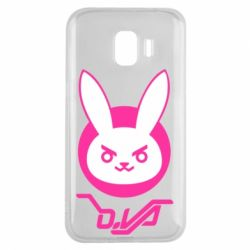 Чехол для Samsung J2 2018 Overwatch dva rabbit