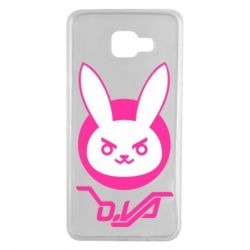 Чехол для Samsung A7 2016 Overwatch dva rabbit