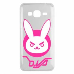 Чехол для Samsung J3 2016 Overwatch dva rabbit