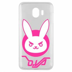 Чехол для Samsung J4 Overwatch dva rabbit
