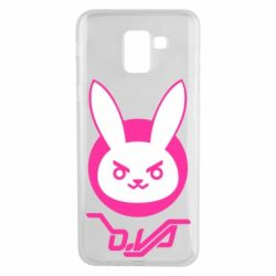 Чехол для Samsung J6 Overwatch dva rabbit