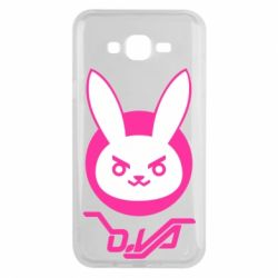 Чехол для Samsung J7 2015 Overwatch dva rabbit