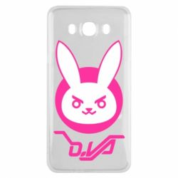 Чехол для Samsung J7 2016 Overwatch dva rabbit
