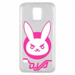 Чехол для Samsung S5 Overwatch dva rabbit