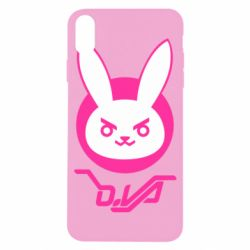 Чехол для iPhone X/Xs Overwatch dva rabbit
