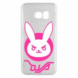 Чехол для Samsung S6 EDGE Overwatch dva rabbit