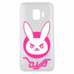 Чехол для Samsung J2 Core Overwatch dva rabbit