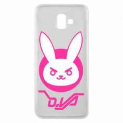 Чехол для Samsung J6 Plus 2018 Overwatch dva rabbit
