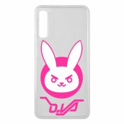 Чехол для Samsung A7 2018 Overwatch dva rabbit