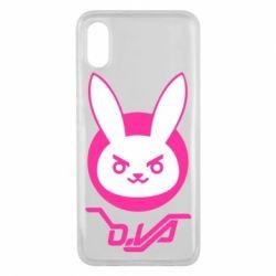 Чохол для Xiaomi Mi8 Pro Overwatch dva rabbit