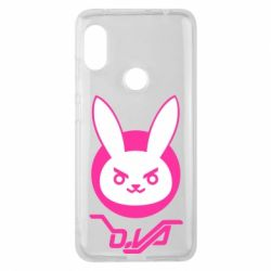 Чехол для Xiaomi Redmi Note 6 Pro Overwatch dva rabbit