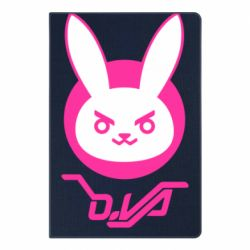Блокнот А5 Overwatch dva rabbit