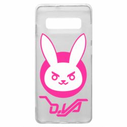 Чехол для Samsung S10+ Overwatch dva rabbit