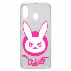 Чехол для Samsung A20 Overwatch dva rabbit