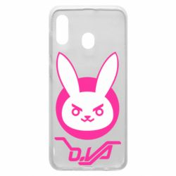Чехол для Samsung A30 Overwatch dva rabbit