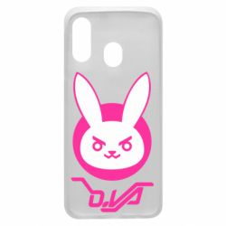 Чехол для Samsung A40 Overwatch dva rabbit