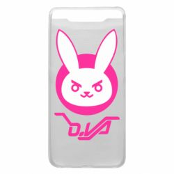 Чехол для Samsung A80 Overwatch dva rabbit