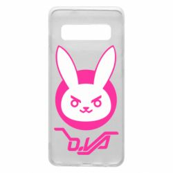 Чехол для Samsung S10 Overwatch dva rabbit