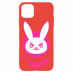 Чехол для iPhone 11 Overwatch dva rabbit