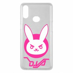 Чехол для Samsung A10s Overwatch dva rabbit